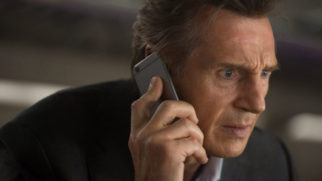 Liam Neeson. (CBS News photo)