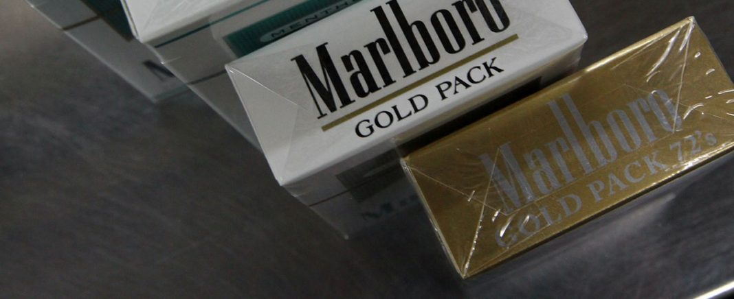 Marlboro cigarettes. (CBS News photo)