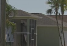 Neighbors express concern over this Cape Coral home. (WINK News photo)