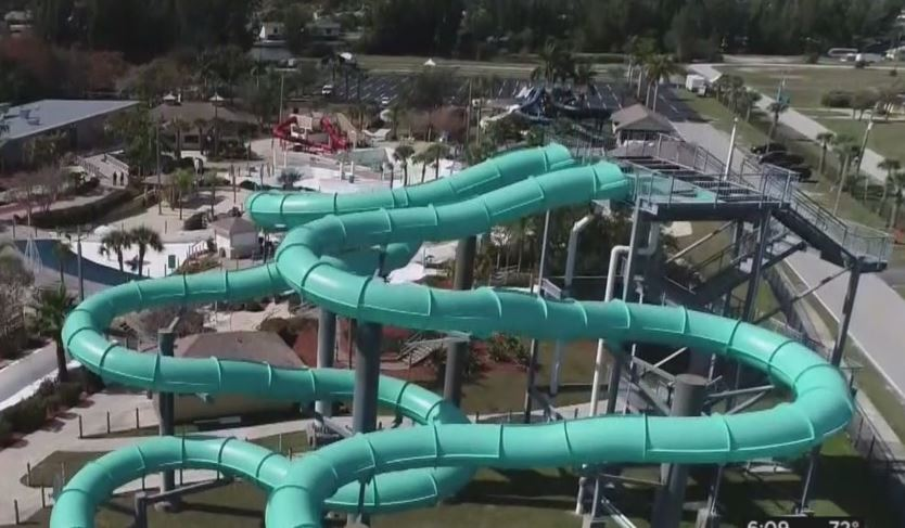 Portion of Sun Splash Family Water Park. (WINK News photo)