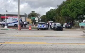 Scene from officers drug exposure. (WINK News photo)
