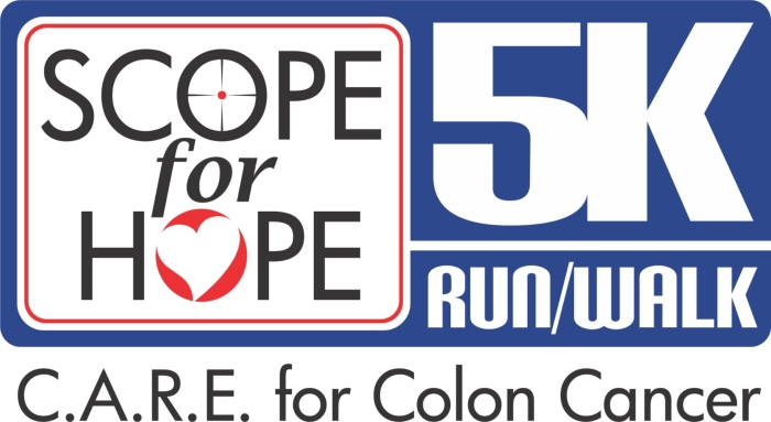 "9th Annual ""Scope for Hope\"" 5K Run, 2-Mile Walk, & Kids\' Fun Run"