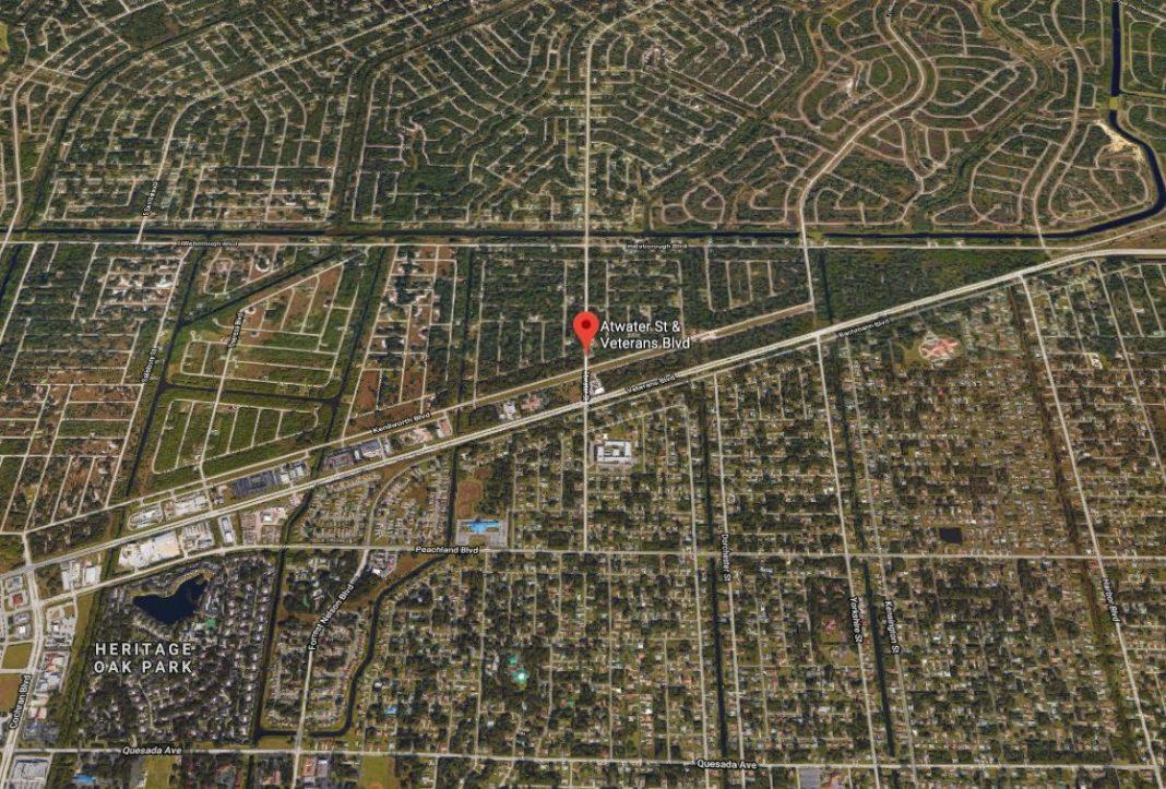 Site of a 5-car pileup. (Google Maps photo)