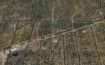 Florida Map Fort Myers.Fowler North Of Winkler Reopened After Fort Myers Crash