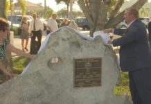 Streetscape unveiling. (WINK News photo)
