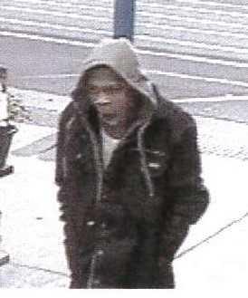 Suspect in Walmart theft. (CCSO photo)