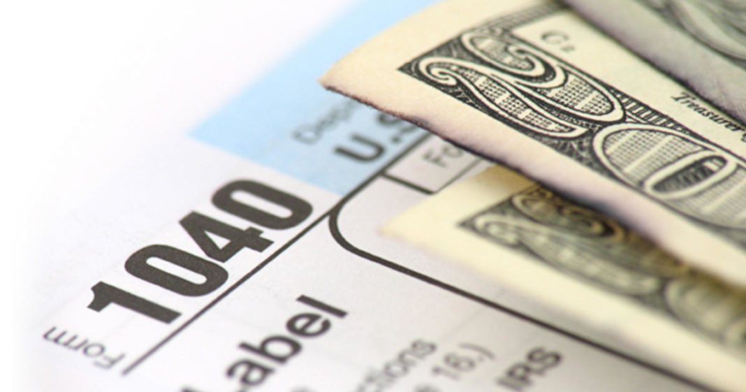 Tax refunds are lower this year. (CBS News photo)