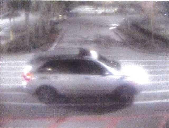 The five suspects fled the scene in a Silver SUV . (CCSO photo)