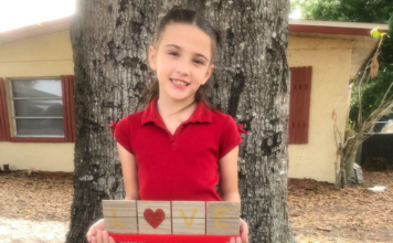 8-year-old girl in a hit-and-run crash Monday morning. (Credit: Aiken Family)