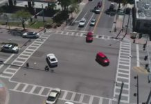 Busy Cape Coral intersection. (WINK News photo)