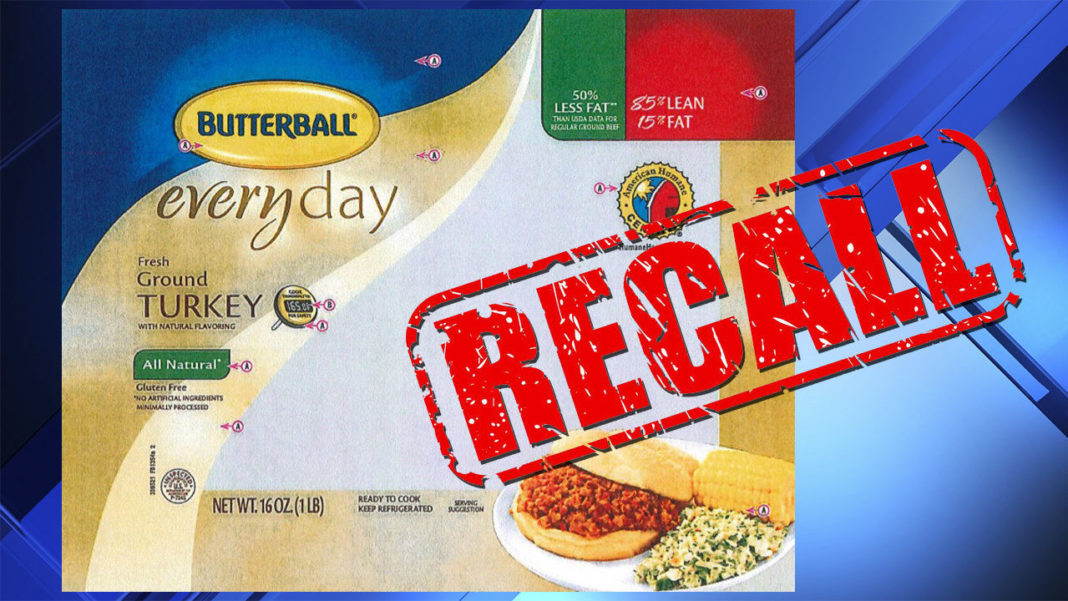 Butterball Turkey recall. (Credit: CBS)