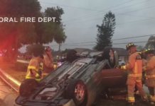 Car crash. (Credit: Cape Coral Fire Dept.)