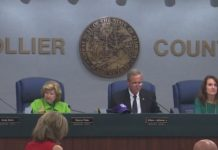 Collier County commissioners. (Credit: WINK News)