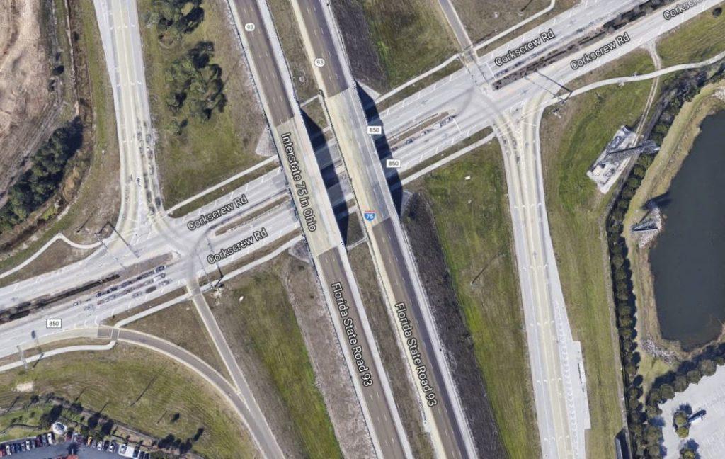 Trailer rollover at mile marker 123, I-75 southbound in Estero
