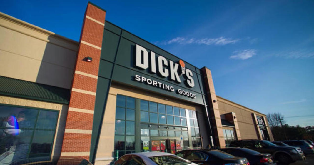 Dick's Sporting Goods. (Credit: CBS News)