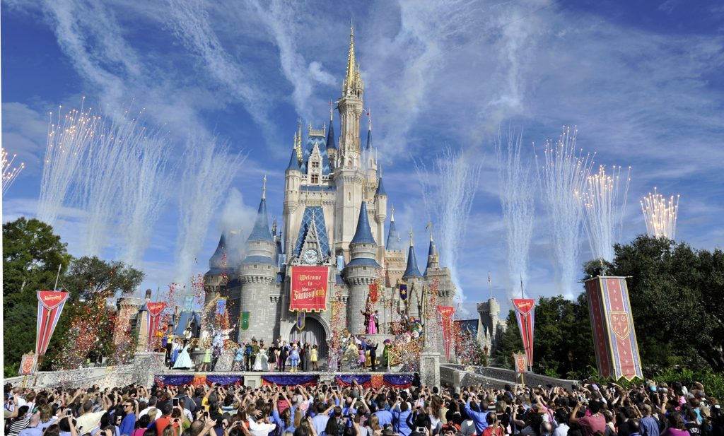 Disney World. (Credit: CBS News)