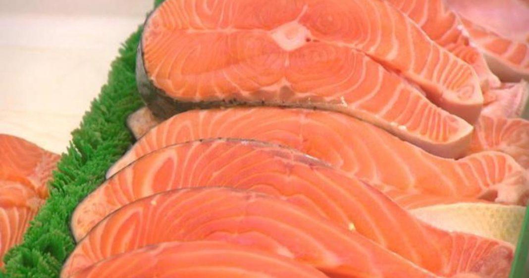 Fillet of salmon. (Credit: CBS News)