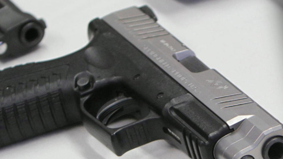 Firearm. (Credit: CBS News)