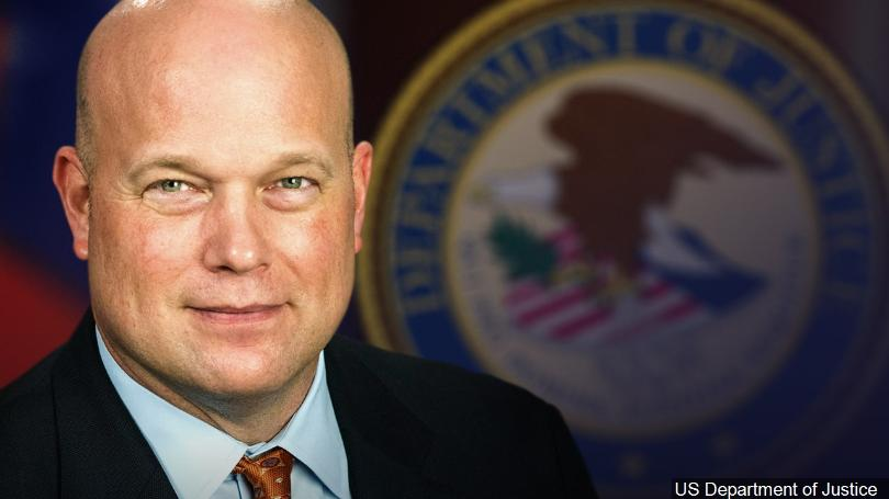 Former Acting Attorney General Matt Whitaker. (CBS photo)