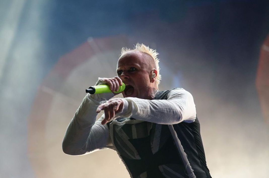 Keith Flint, lead singer of The Prodigy. (CBS News photo)