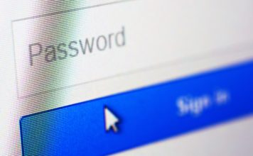 Password blank form at a login screen on the website. (Credit: CBS News)
