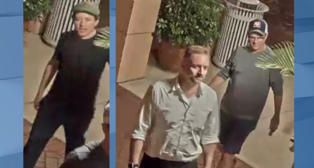 Identity of third man sought by FMPD after Robert E. Lee bust is damaged