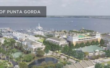 Portion of plans for Punta Gorda. (Credit: City of Punta Gorda)