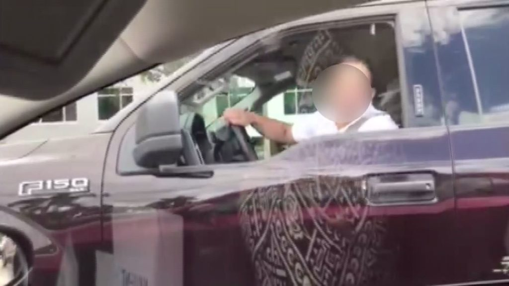 Phone fends of road rage driver on US 41 in Naples
