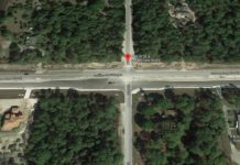 Site of a bike fatality. (Google Maps photo)