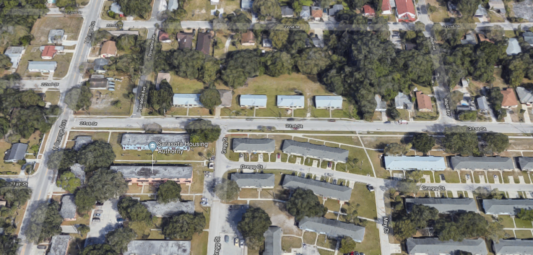 Site of a suspicious death investigation. (Credit Google Maps)