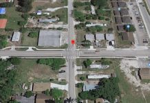 Site of the vehicle vs. pedestrian crash. (Google Maps photo)