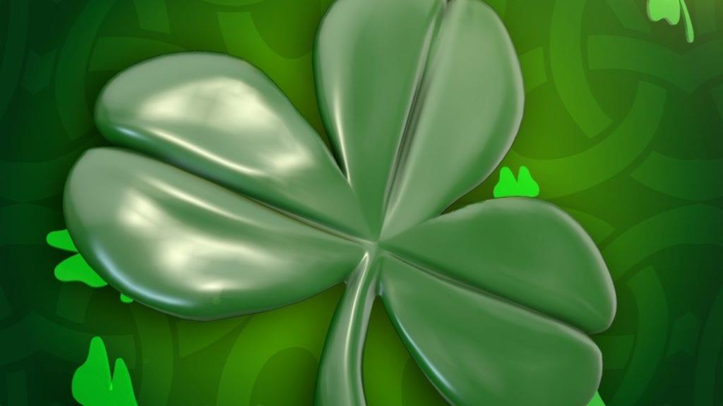 St. Patrick's Day charm. (Credit: CBS)