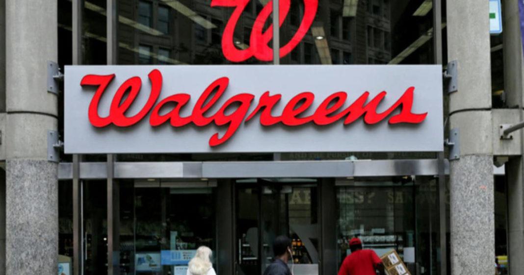 Walgreens store. (CBS News photo)