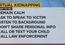 What to do in a virtual kidnapping situation. (Credit: WINK News)