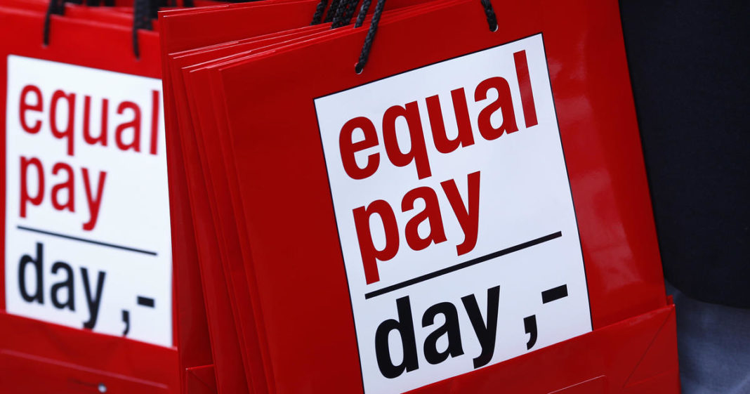 Women earn $81,000 less over their careers than men. (Credit: CBS News)
