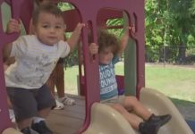 Children playing at the playground. (Credit: WINK News)