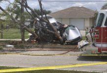 Crash in Cape Coral. (Credit: WINK News)