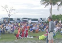 Sunday Easter services on Sanibel Island. (Credit: WINK News)