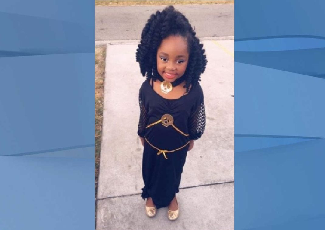 Elizabelle Frenel, 6, died late Saturday. (Credit: CBS)