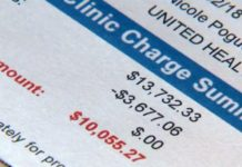 Expensive medical bill. (Credit: WINK News)
