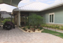 Home adjacent to an RV. (Credit: WINK News)