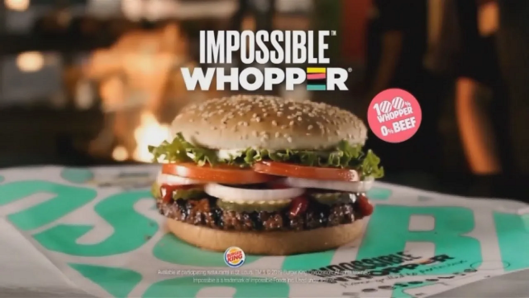 Impossible Whopper. (Credit: Burger King)