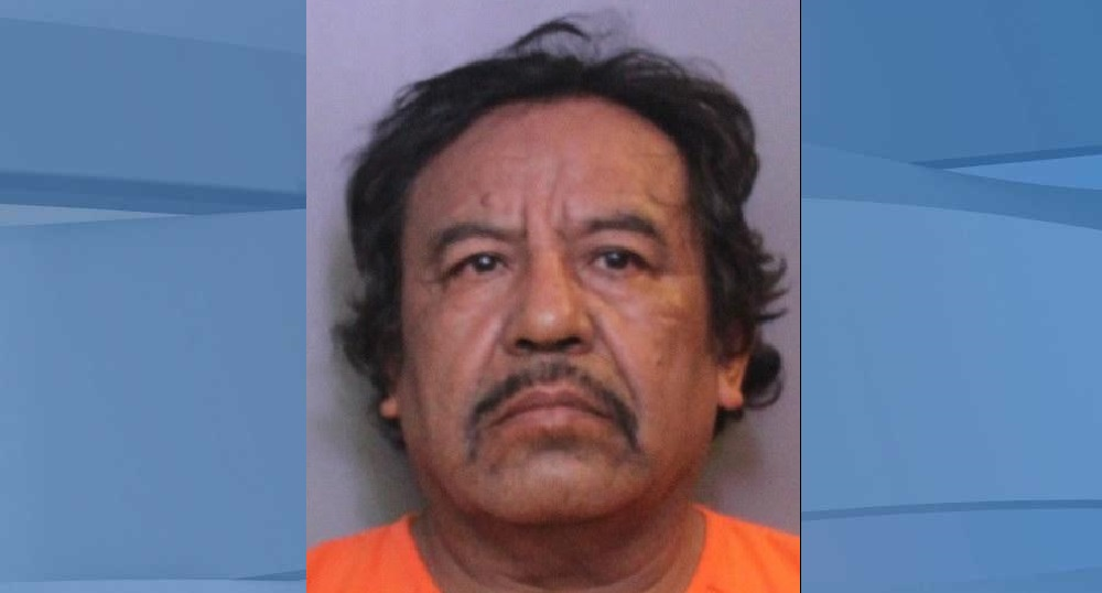 Mugshot of Carlos Carrizales, 61. (Credit: Polk County Sheriff's Office)