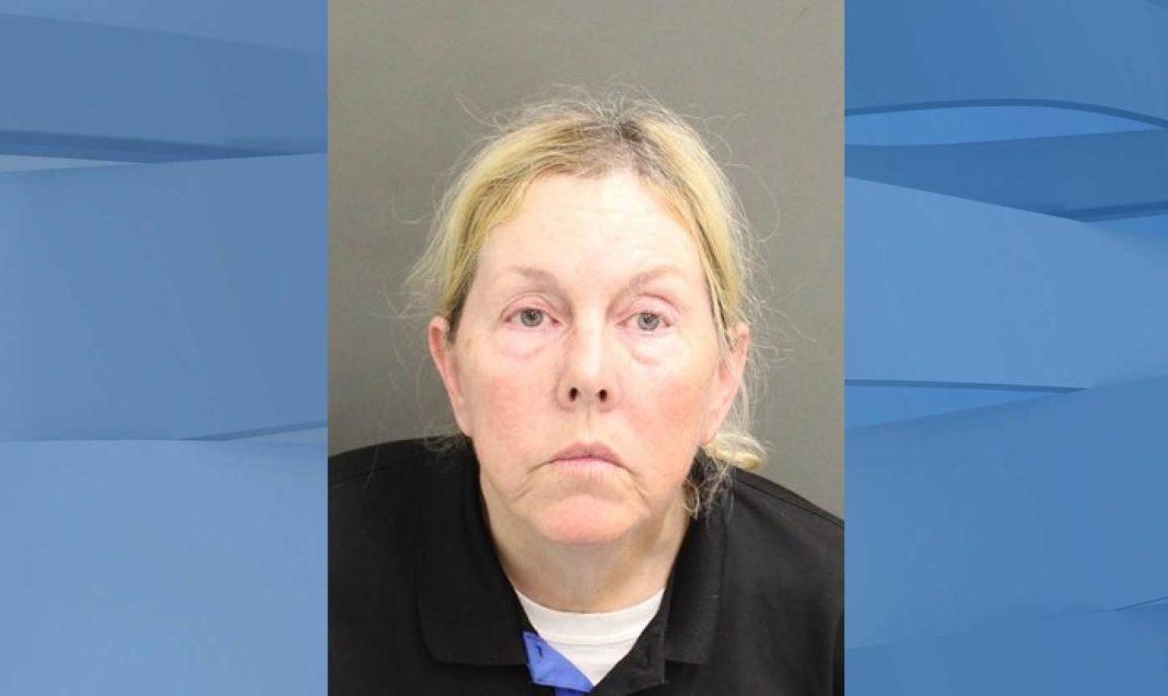 Mugshot of Lisa Maureen Saunders, 55. (Credit: Orange County Jail)