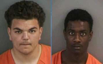 Mugshot of Ricardo Martinez, 18, and Edson Laguerre, 18. (Credit: Collier County Sheriff's Office)