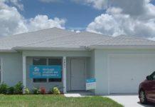 Jamika Johnson's new home. (Credit: WINK News)