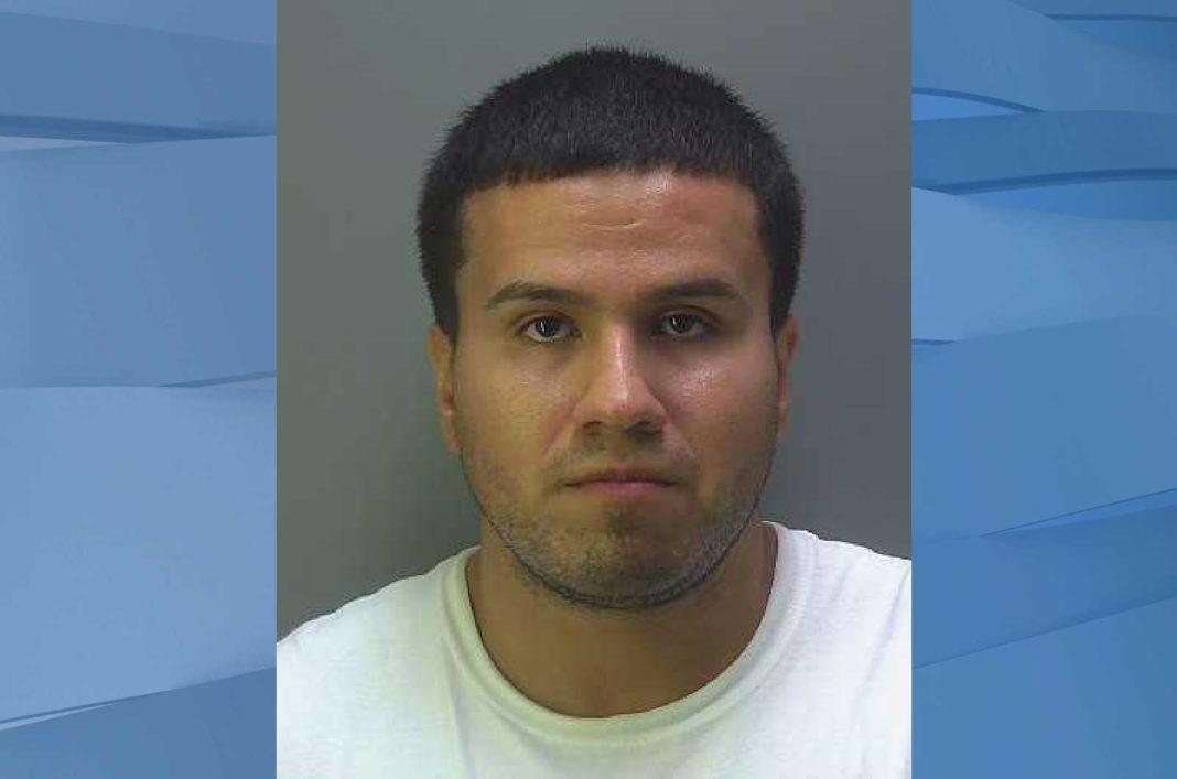 Mugshot of Juan Jesus Madrid, 28. (Credit: Hendry County Sheriff's Office)