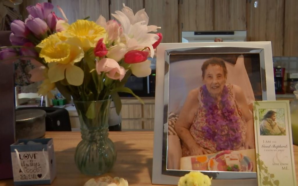Mom, Gertrude Cifaldi, who died on April 13. (Credit: WINK News)