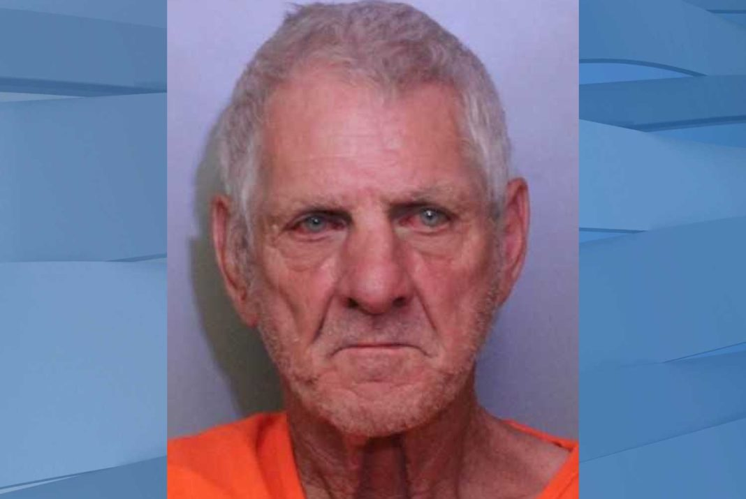 Mugshot of Gary Anderson, 68. (Credit: Polk County Sheriff's Office)
