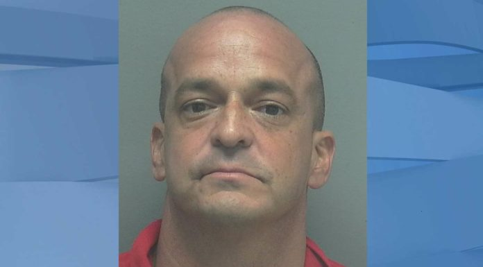 Mugshot of Hugh Waldemar Jervis, 46. (Credit: Lee County Sheriff's Office)
